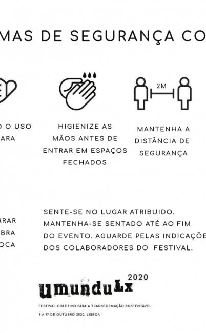 Informações para promotores de eventos no Festival Umundu Lx 2020