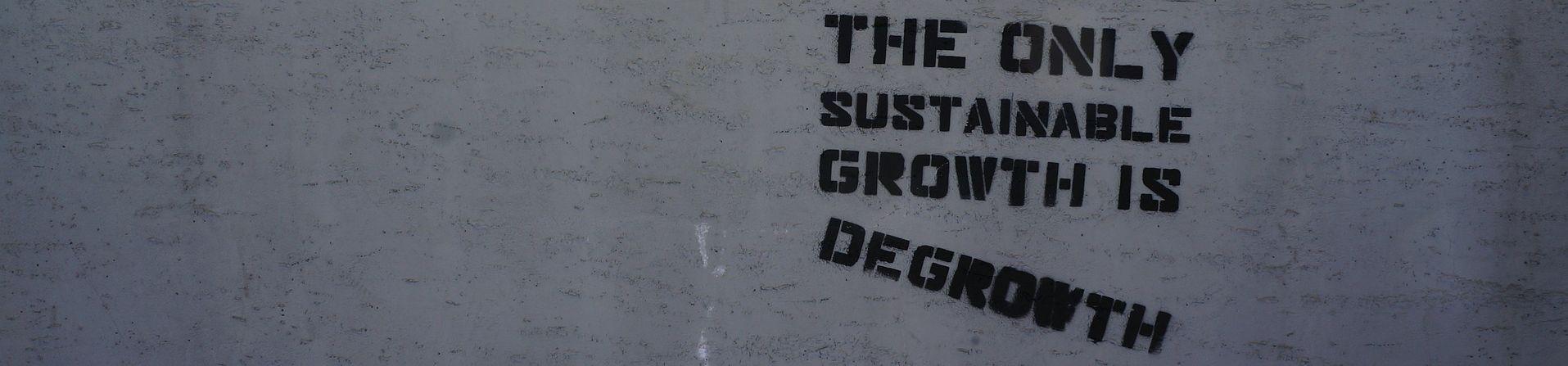 Decrescimento – Modelo alternativo e sustentável?